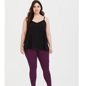 Torrid black sleeveless blouse sz:4x lightweight